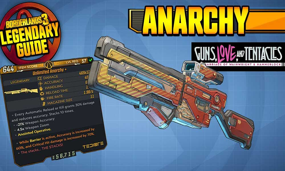 How to get the Anarchy in Borderlands 3