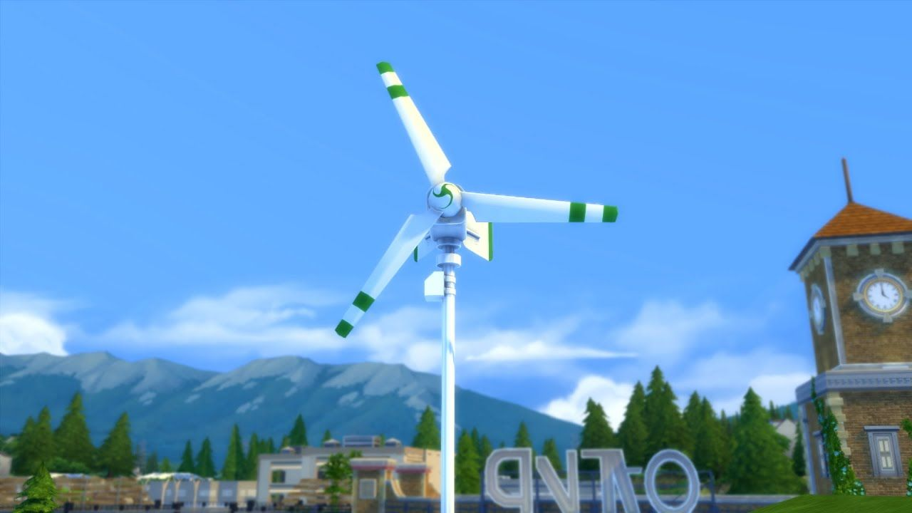 How to Build Wind Turbines in Sims 4 Eco Lifestyle