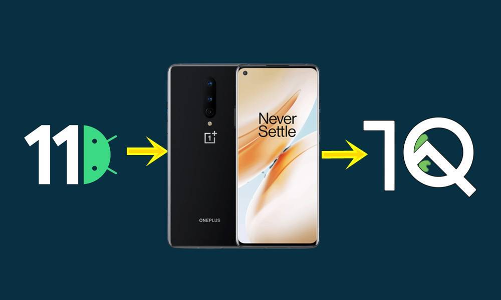 oneplus 8-rollback-android-10