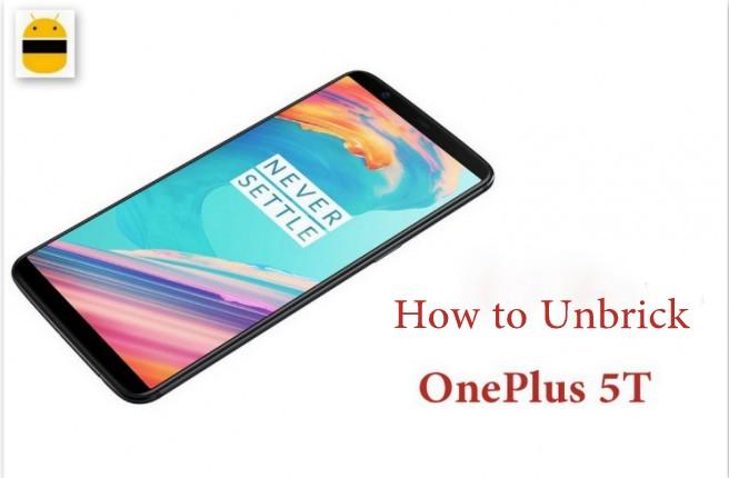 Cómo desbloquear Oneplus 5T (Fix Bootloop, Unroot)