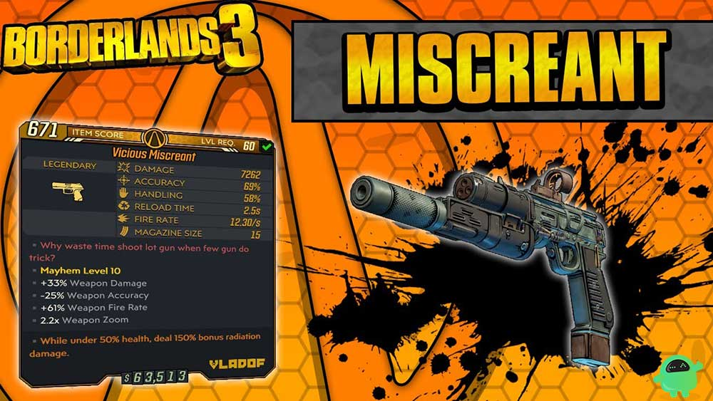 Miscreant in Borderlands 3