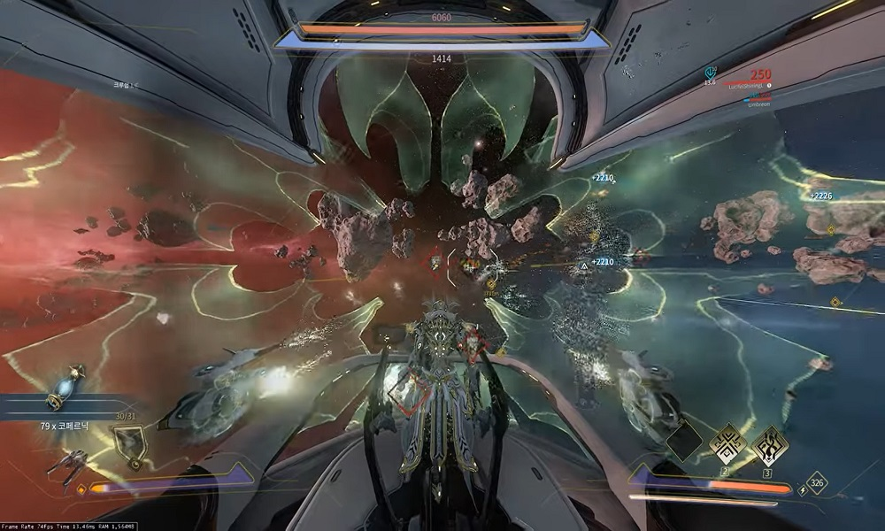 How To Destroy A Crewship With Forward Artillery in Warframe