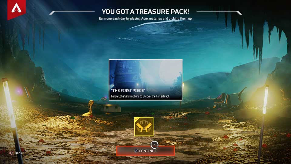 How to stop You got a Treasure Pack message in Apex Legends