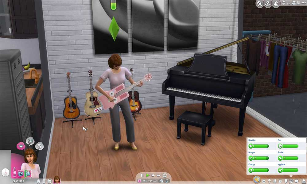 How to Write Songs and Make Money with Music in The Sims 4