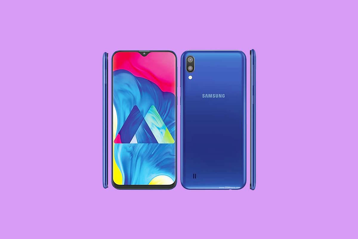 Cómo ingresar al modo de recuperación en Samsung Galaxy M10