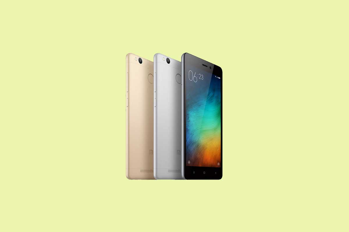How to Enter Recovery Mode on Xiaomi Redmi 3 Pro