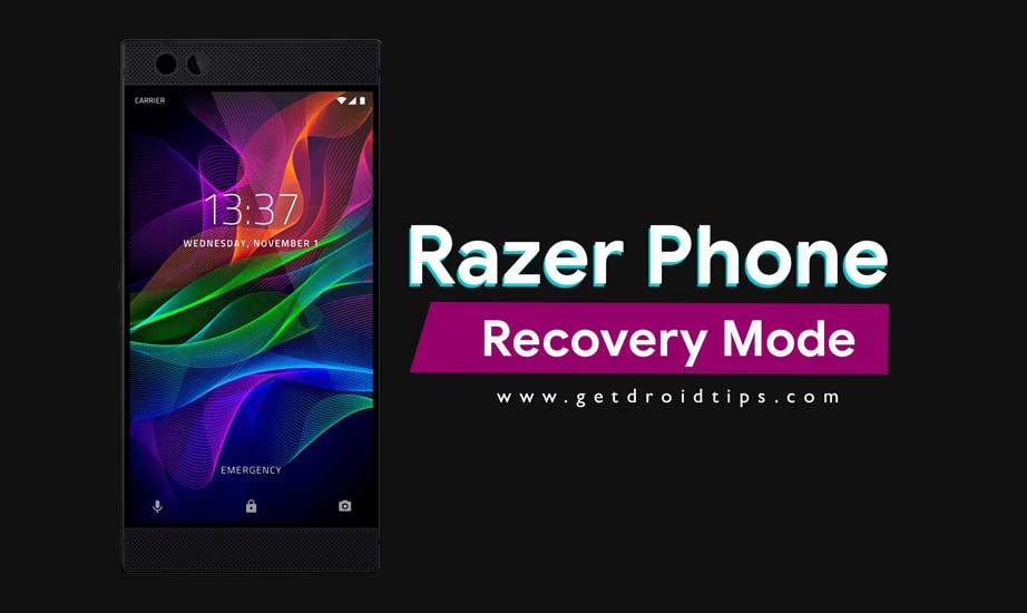 How to Boot into Recovery Mode on Razer Phone (Stock/Custom)