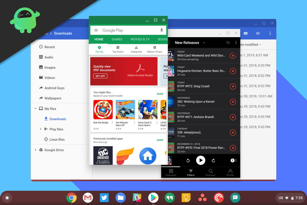 How to Install Chrome OS on PC with Play Store Support