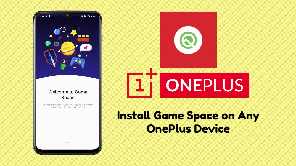 Cómo instalar Oxygen OS Game space en cualquier dispositivo OnePlus con OOS 9.5.xo superior