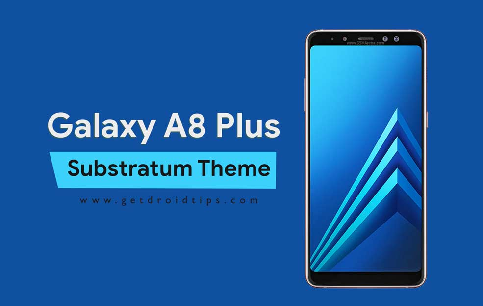 Cómo instalar Substratum Theme Engine en Galaxy A8 Plus [Without Root]