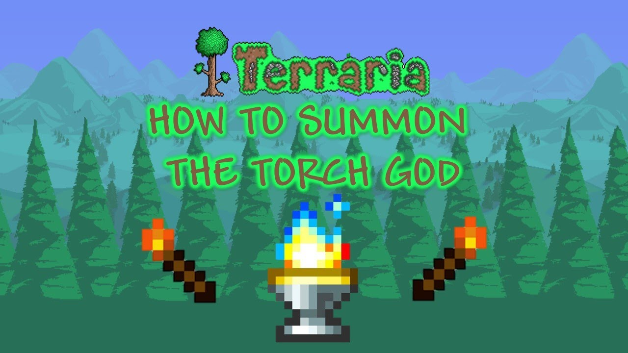 How to Summon Torch God in Terraria: Journey's End