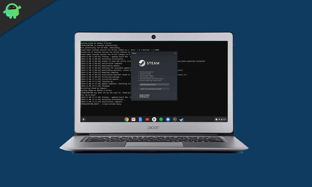 Cómo jugar juegos de Steam en Chrome OS con soporte de Linux