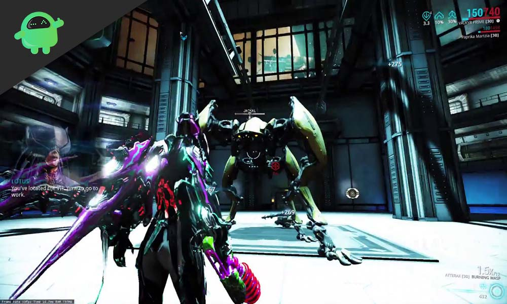 How to Kill the Jackal in Warframe - Boss Fight Guide