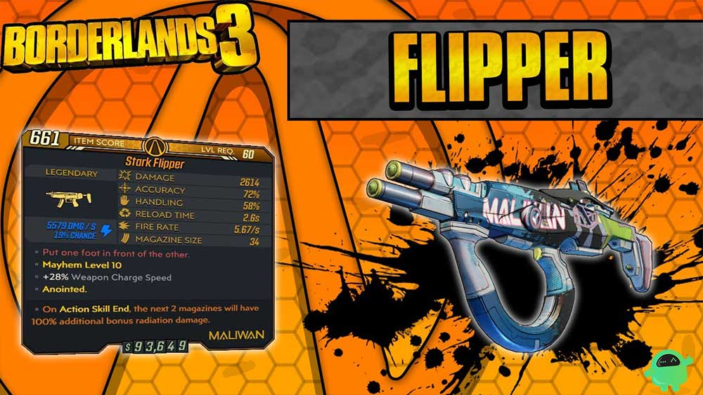 Flipper in Borderlands 3