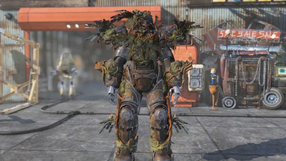 Strangler Heart Power Armor in Fallout 76