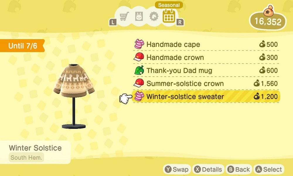 How to Get Summer and Winter Solstice Items in Animal Crossing: New Horizons