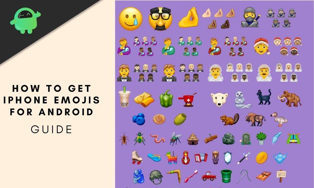Cómo obtener iPhone Emojis para Android: dispositivo raíz y no rooteado
