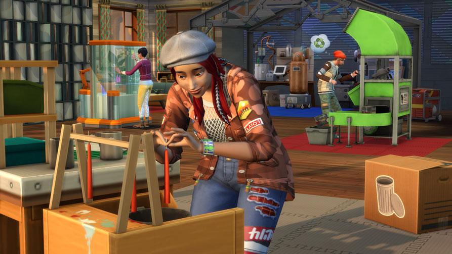 Sims 4 Eco Lifestyle