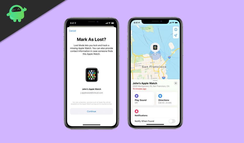 Cómo poner Apple Watch en modo perdido en un dispositivo iOS