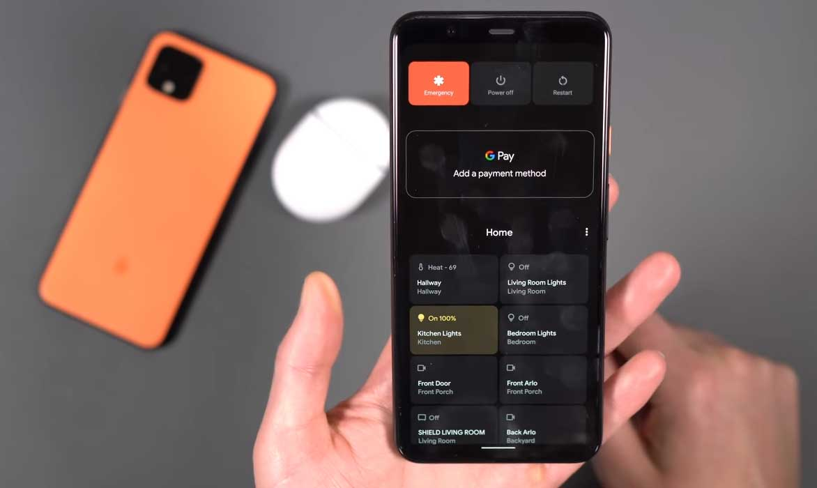 How to Remove Smart Home Toggles on Android 11 Power Menu