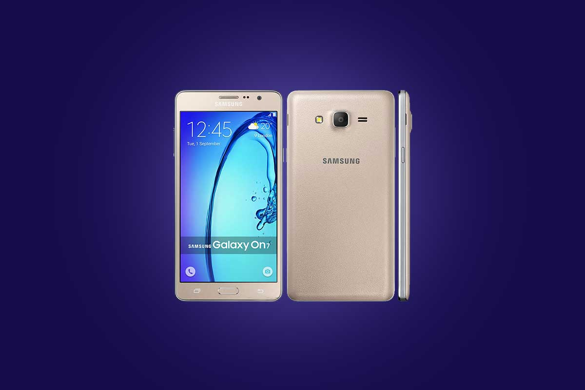 How to Remove Forgotten Pattern lock on Galaxy On7 Pro