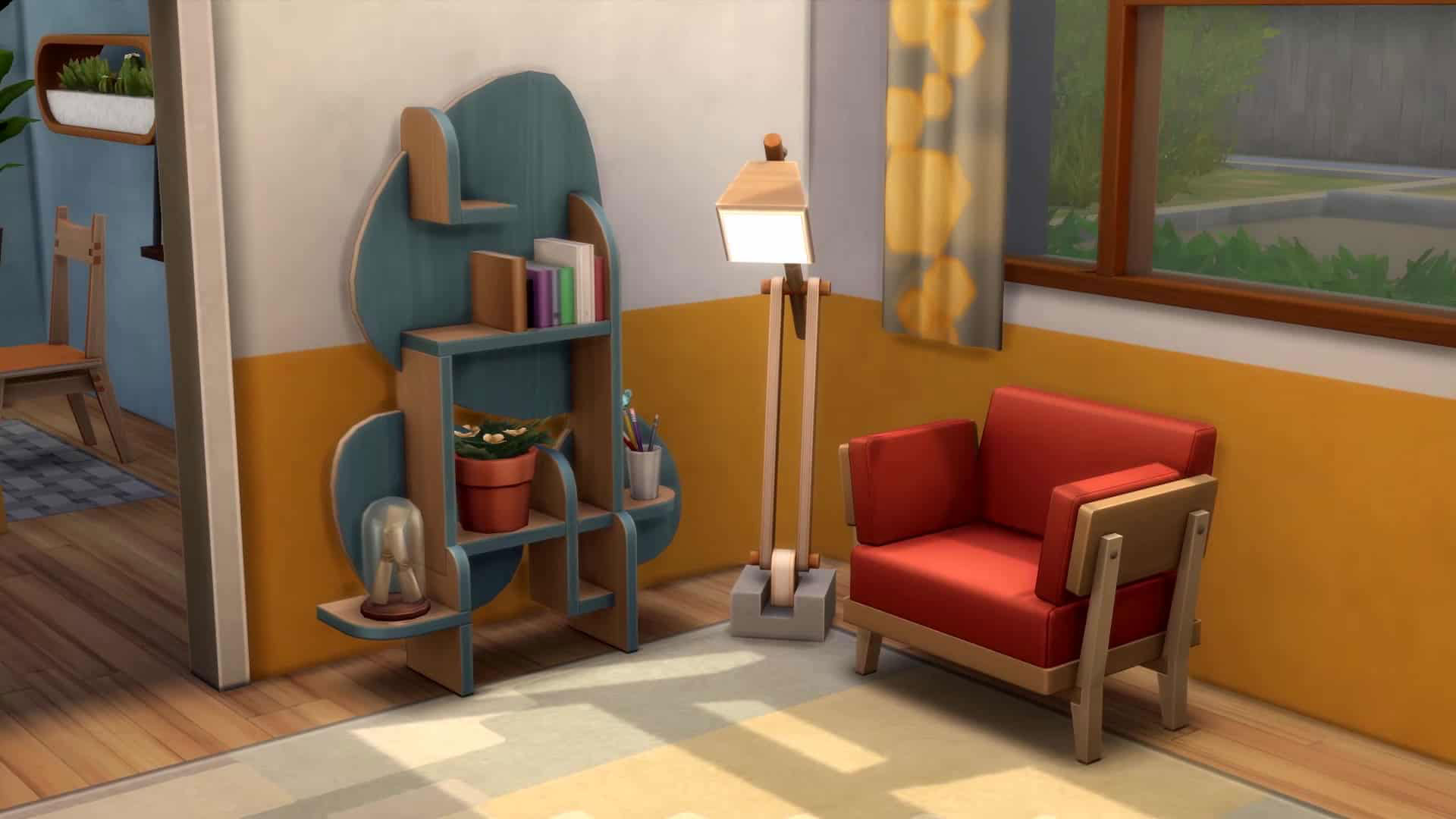 Recycle Furniture in Sims 4 Eco Lifestyle