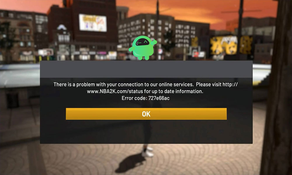 How to Fix NBA 2K20 Error Code 727e66ac