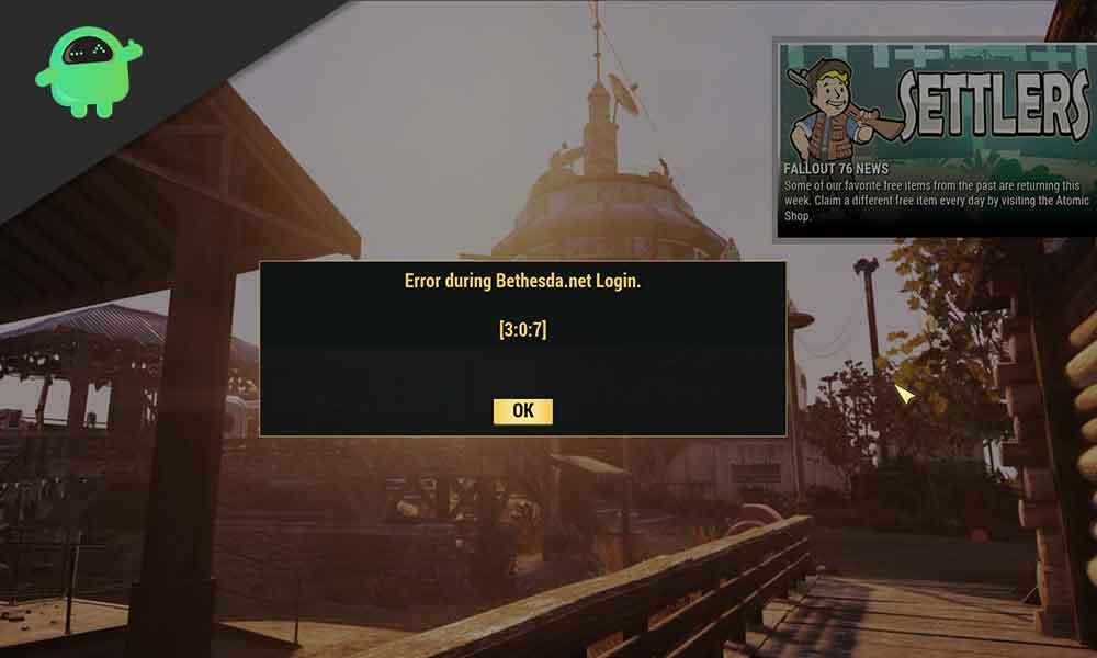How to Fix Fallout 76 Error during Bethesda.net Login [3:0:7]