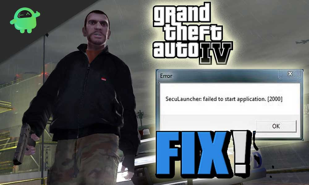How to fix GTA IV SecuLauncher error