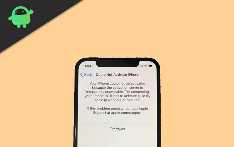 How to Fix iPhone Activation Error or Could Not Activate Error