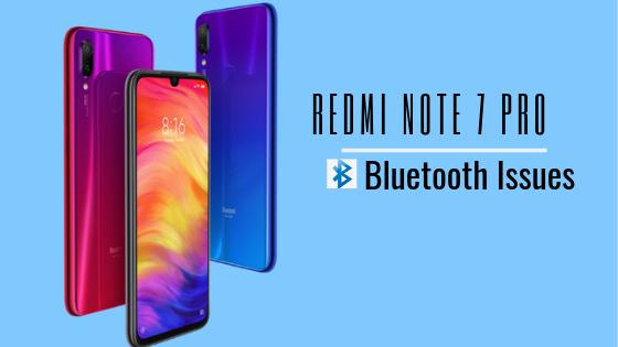 Cómo solucionar problemas de conexión Bluetooth de Redmi Note 7 Pro