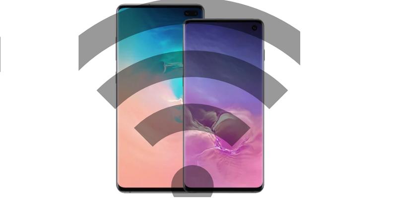Cómo usar el punto de acceso móvil como enrutador inalámbrico en Galaxy S10, S10E y S10 +