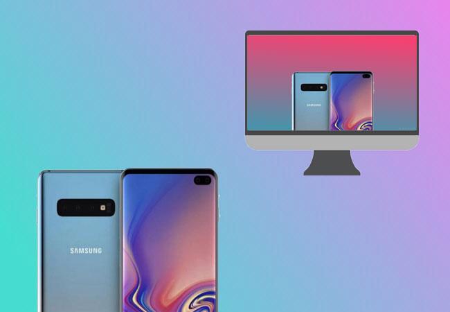 Cómo usar la aplicación Samsung Smart View para duplicar la pantalla del televisor en el Galaxy S10