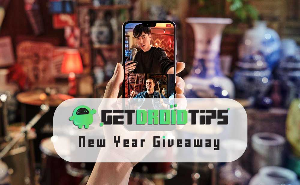 Concurso internacional GetDroidTips Año Nuevo 2019