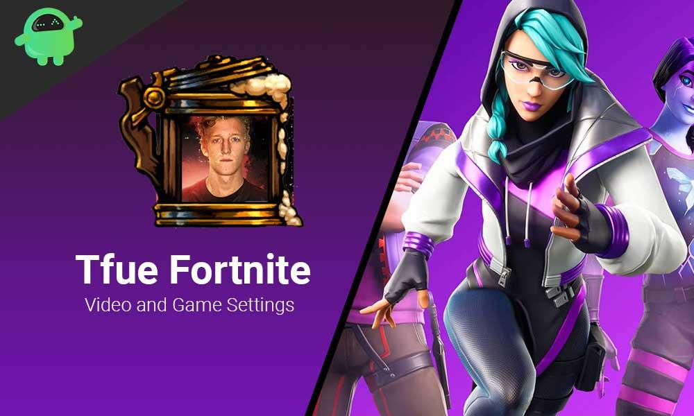 Tfue Fortnite Video and Game Settings
