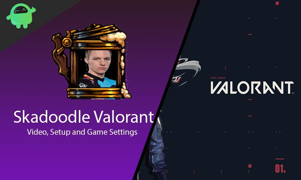 Skadoodle Valorant Game Settings, Keynindings, Crosshairs and Setup