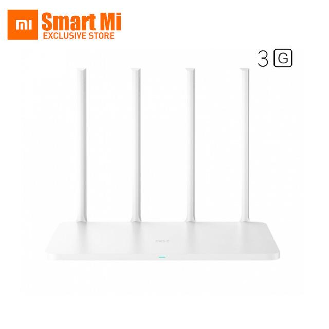 [DEAL] Cuarto enrutador WiFi original Xiaomi 3G: revisión y especificaciones