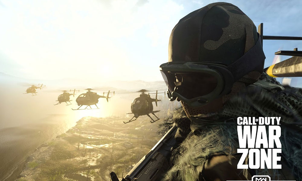Call of Duty Warzone Setup Download Showing Network Error Message