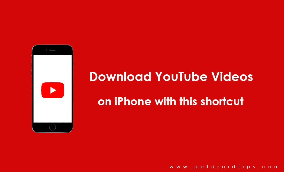 Download YouTube Videos on iPhone with this shortcut without Jailbreak or any apps