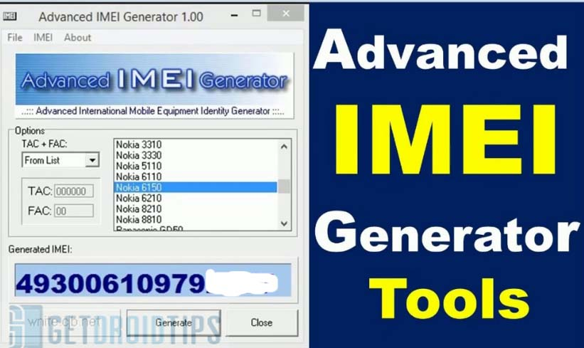 Herramienta avanzada de generador de IMEI