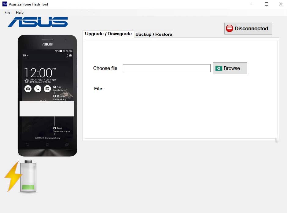 Download Asus Zenfone Flash Tool