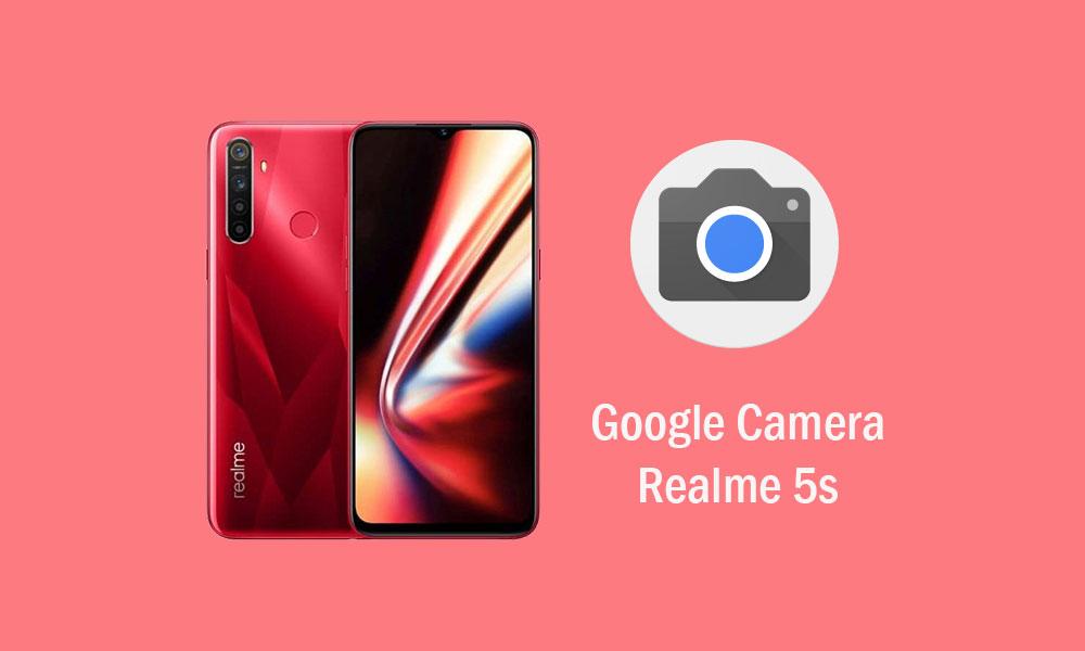 Download Google Camera for Realme 5s (GCam APK)