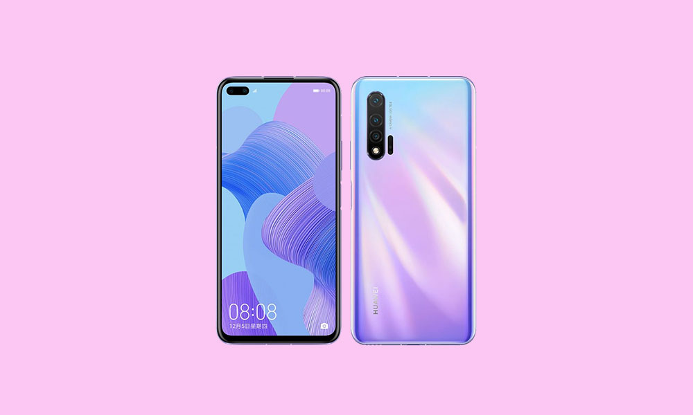 Download Huawei Nova 6 5G Stock Wallpapers