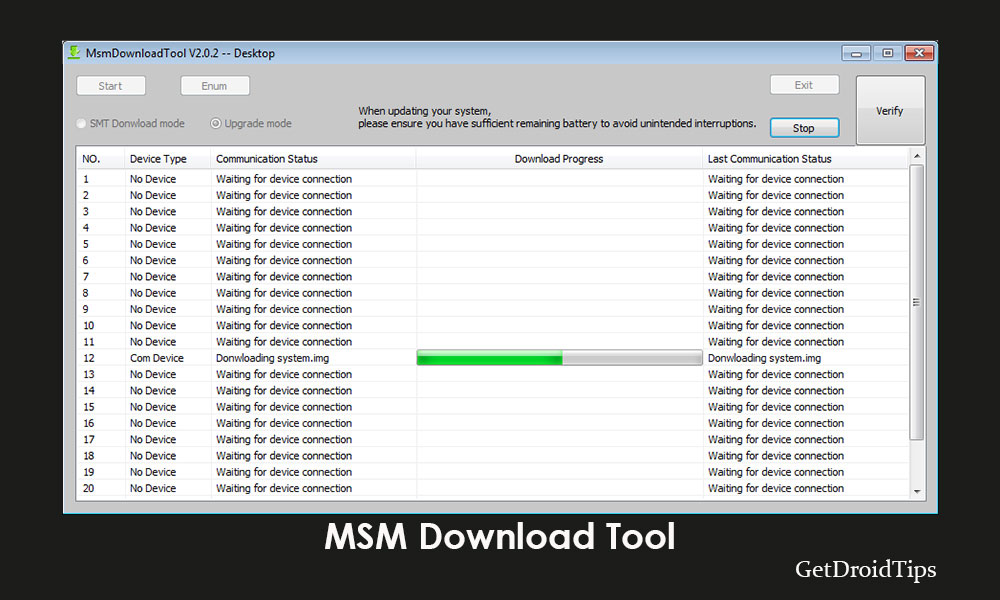 Download MSM Download Tool for Oppo devices [Latest Version 2019]