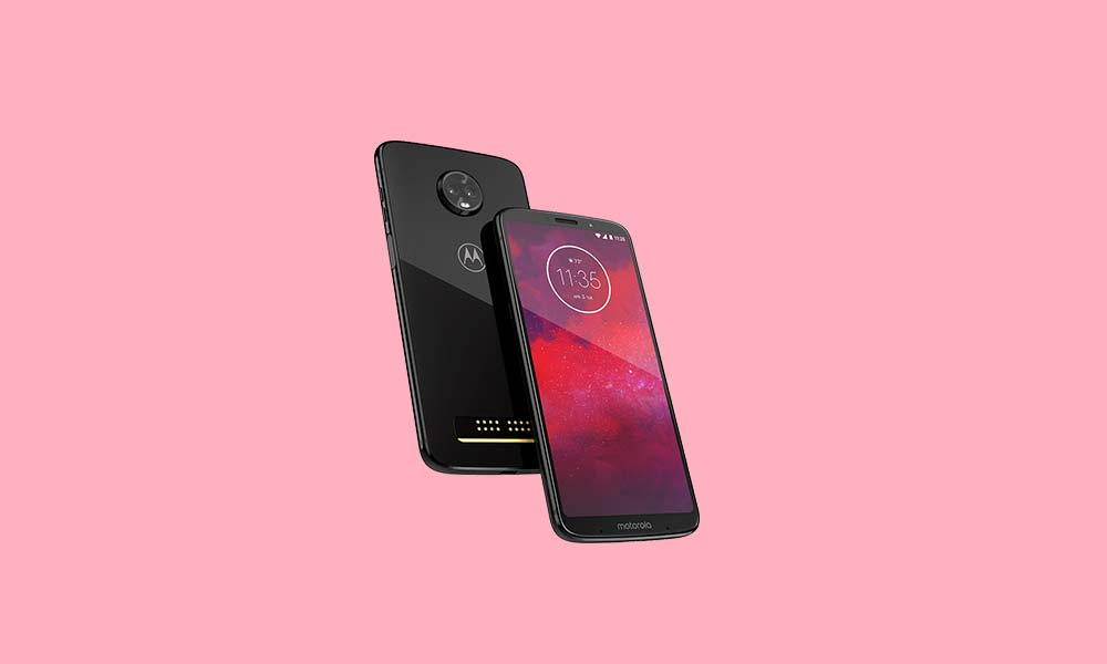 Descargar ODXS28.66-18-1: Verizon Motorola Moto Z3 Agosto de 2018 Seguridad