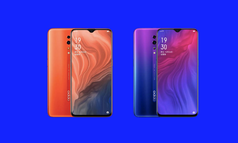Download Oppo Reno Z Stock Wallpapers