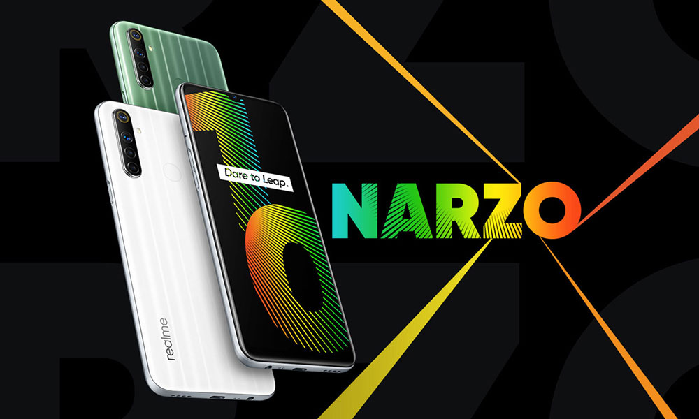 Download Realme Narzo 10 & 10A Stock Wallpapers