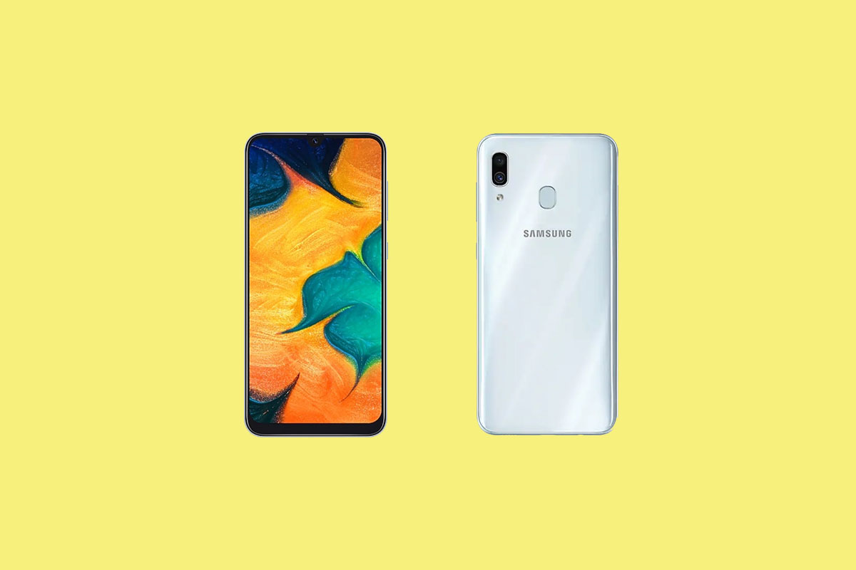 Download Samsung Galaxy A30s Stock Wallpapers