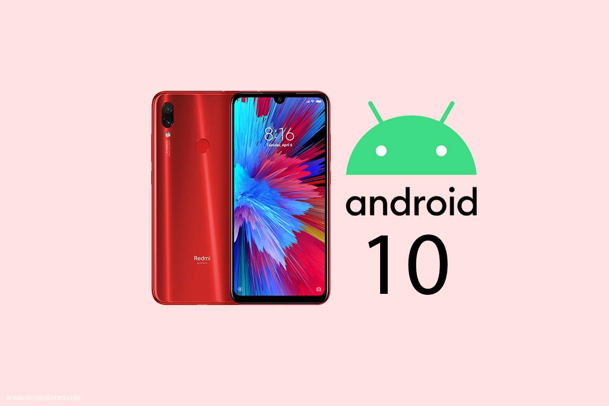 redmi note 7 android 10