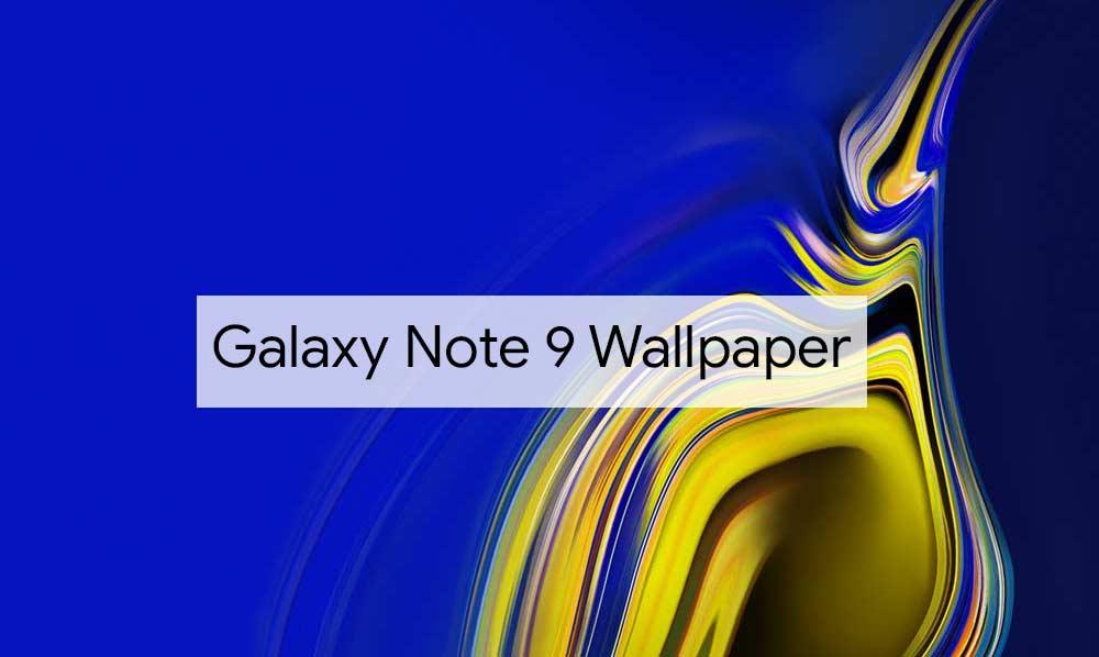 Descargar el fondo de pantalla de Samsung Galaxy Note 9 Stock [Quad HD+ Resolution]